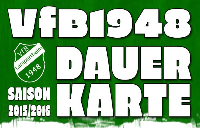 Dauerkarte für Saison 2015/2016